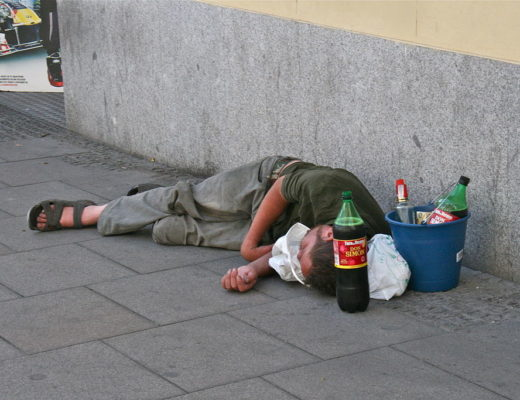 http://commons.wikimedia.org/wiki/File:Alcoholism_-_Street.JPG