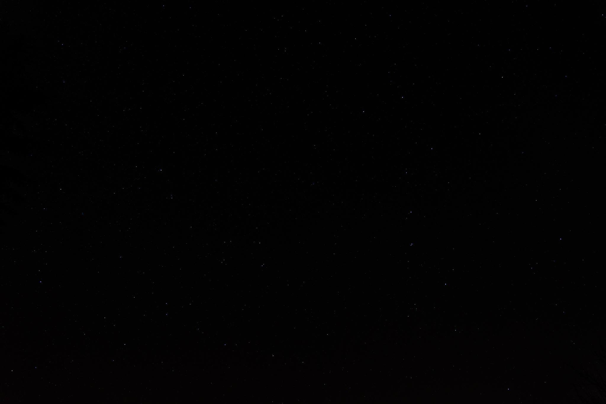 Night sky polaris